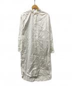 Whim Gazette(ウィムガゼット)の古着「シャツワンピース」 ホワイト