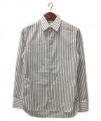 THE ROW(ザ ロウ)の古着「ストライプシャツ」|ホワイト×グレー