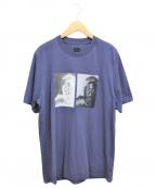 OAMC(オーエーエムシー)の古着「スケッチプリントTシャツ」|ネイビー