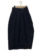 JIL SANDER(ジルサンダー)の古着「スカート」|ネイビー