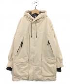 Junhashimoto()の古着「軽量パディング中綿ジャケット」|ベージュ