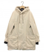 Junhashimoto(ジュンハシモト)の古着「軽量パディング中綿ジャケット」 ベージュ