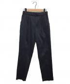 YORI(ヨリ)の古着「ブライトスティックパンツ」|ネイビー