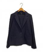 MAX&Co.(マックスアンドコー)の古着「セットアップスカートスーツ」|ネイビー