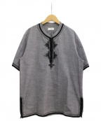 UNDERCOVERISM()の古着「刺繍シャツ」 グレー
