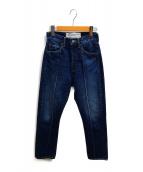 ()の古着「センターシームデニムパンツ」|インディゴ