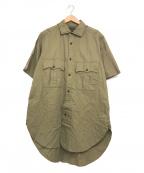 NIGEL CABOURN(ナイジェルケーボン)の古着「ブリティッシュアーミーシャツ」 カーキ