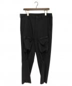 syte(サイト)の古着「Bondage Zipper Cargo Pants」|ブラック