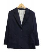 ()の古着「ウールテーラードジャケット」 ネイビー