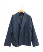 DRAWER(ドゥロワー)の古着「ノッチドテーラードジャケット」|ネイビー