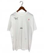 OAMC(オーエーエムシー)の古着「LOGIC T-shirt」|ホワイト