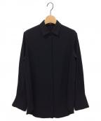 MUSE de Deuxieme Classe(ミューズ ドゥーズィエム クラス)の古着「EDENシャツ」|ブラック