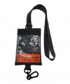 HERON PRESTON(ヘロンプレストン)の古着「Passport Keychain Holder」|ブラック