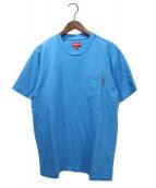 SUPREME(シュプリーム)の古着「ポケットTシャツ」 ブルー