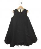 leur logette(ルルロジェッタ)の古着「ノースリーブワンピース」 ブラック