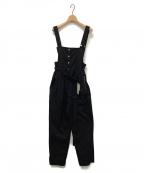 AEWEN MATOPH(イウエン マトフ)の古着「オーバーオール」 ブラック