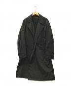 Junhashimoto(ジュンハシモト)の古着「マグボタン タイロッケンコート」 ブラック