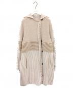 SONIA RYKIEL(ソニア リキエル)の古着「ニットコート」|ピンク