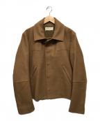 MARNI(マルニ)の古着「カシミヤ混ウールハーフコート」|ブラウン