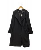 ()の古着「コート」 ブラック