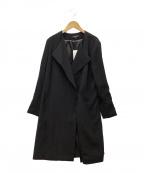 LAUTRE AMONT(ロートレアモン)の古着「コート」|ブラック