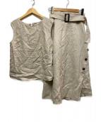 ()の古着「リネンセットアップ」|キナリ