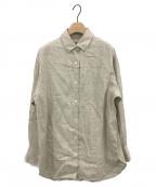 VERMEIL par iena(ヴェルメイユパーイエナ)の古着「SOLBIATIリネンシャツ」 ベージュ