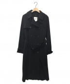 noir kei ninomiya(ノワール ケイ ニノミヤ)の古着「トレンチコート」|ブラック