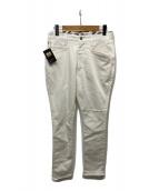 ()の古着「デニムパンツ」 ホワイト