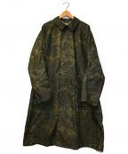 BRU NA BOINNE(ブルーナボイン)の古着「ガリーベアコート」|オリーブ