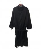 whowhat(フーワット)の古着「チベットコート」|ブラック