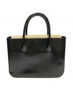 Hamano(ハマノ)の古着「レザートートバッグ」|ブラック