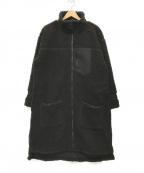 PRIMALCODE(プライマルコード)の古着「BOA LONG COAT/ボアロングコート」 ブラック