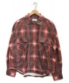 ()の古着「ORIGINAL OMBRE CHECK SHIRTS」|レッド