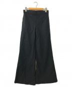 Plage(プラージュ)の古着「Linen Bias パンツ」|ブラック