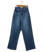 YANUK(ヤヌーク)の古着「デニムパンツ」 ブルー