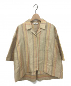 pelleq(ペレック)の古着「シャツ」 ベージュ