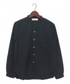 WRYHT(ライト)の古着「バンドカラーシャツ」|ブラック