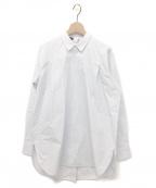 SOFIE DHOORE(ソフィードール)の古着「ポプリンバックボタンブラウス」