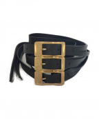Maison Margiela 11(メゾンマルジェラ 11)の古着「3連ベルト」|ブラック