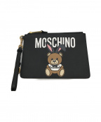 MOSCHINO(モスキーノ)の古着「モスキーノベアクラッチバッグ」|ブラック