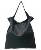 JIL SANDER(ジルサンダー)の古着「XIAO / レザートートバッグ」|ブラック