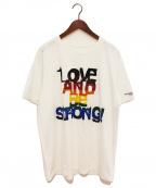 TAKAHIROMIYASHITA TheSoloIst.(タカヒロミヤシタザソロイスト)の古着「プリントTシャツ」|ホワイト