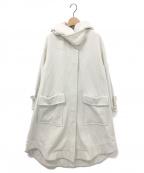 Emma Taylor(エマテイラー)の古着「MILITARY WOOL LONG COAT」|ホワイト