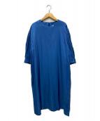 ()の古着「サックワンピース」|ブルー