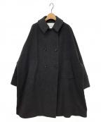ticca(ティッカ)の古着「コート」 チャコールグレー