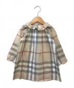 BURBERRY CHILDREN(バーバリー チルドレン)の古着「長袖ワンピース」 ベージュ