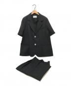 ETRE TOKYO(エトレトウキョウ)の古着「セットアップ」|ブラック