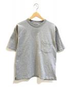 ()の古着「スタンドアップTシャツ」 グレー