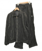 OY(オーワイ)の古着「プリーツ セットアップ」|ブラック